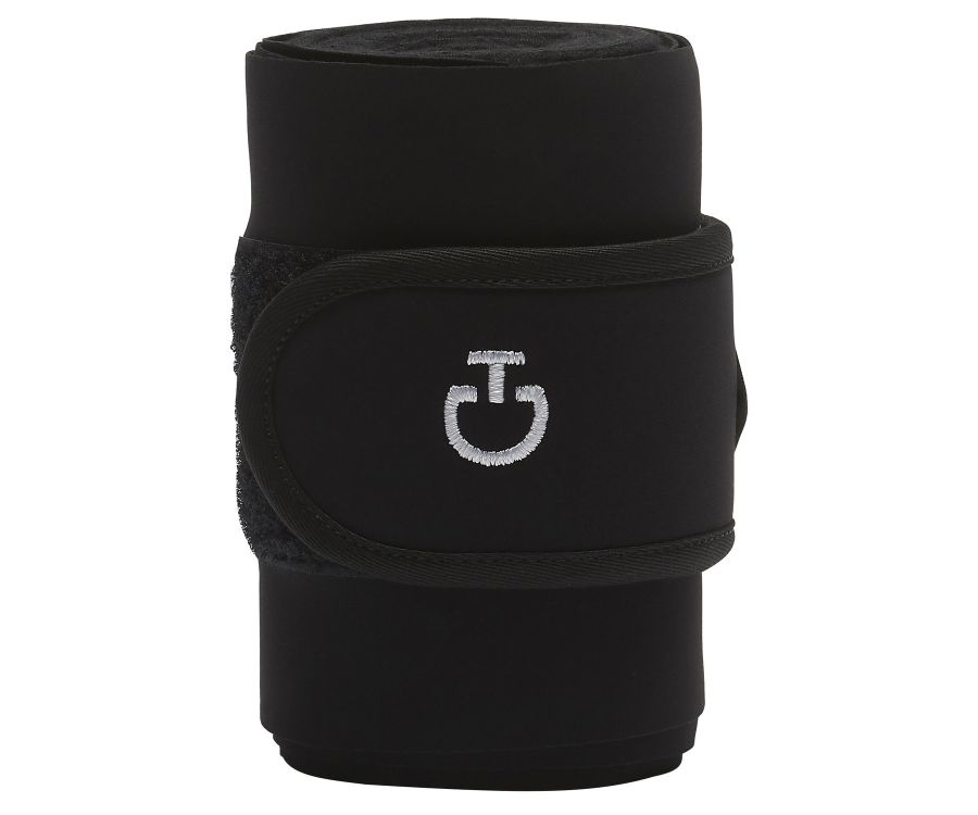 Set of 2 jersey and fleece bandages.