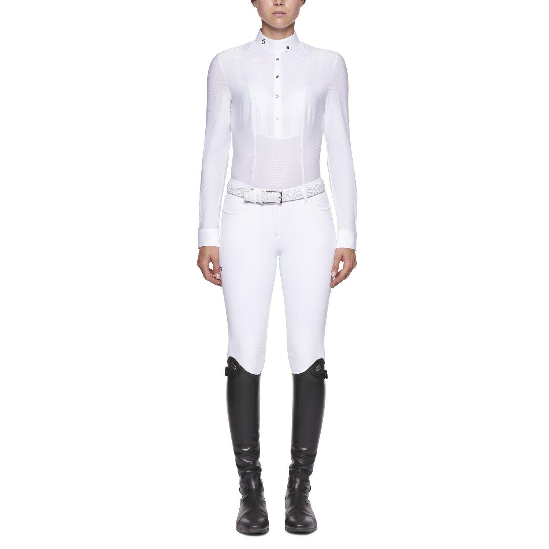 Camicia tecnica da donna a maniche lunghe