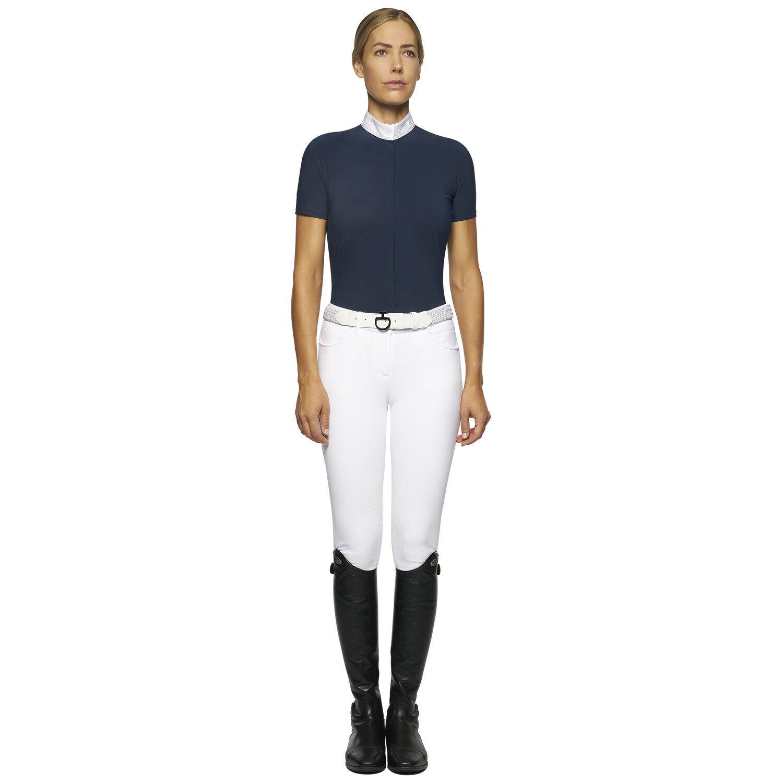 Women's short-sleeved jersey shirt