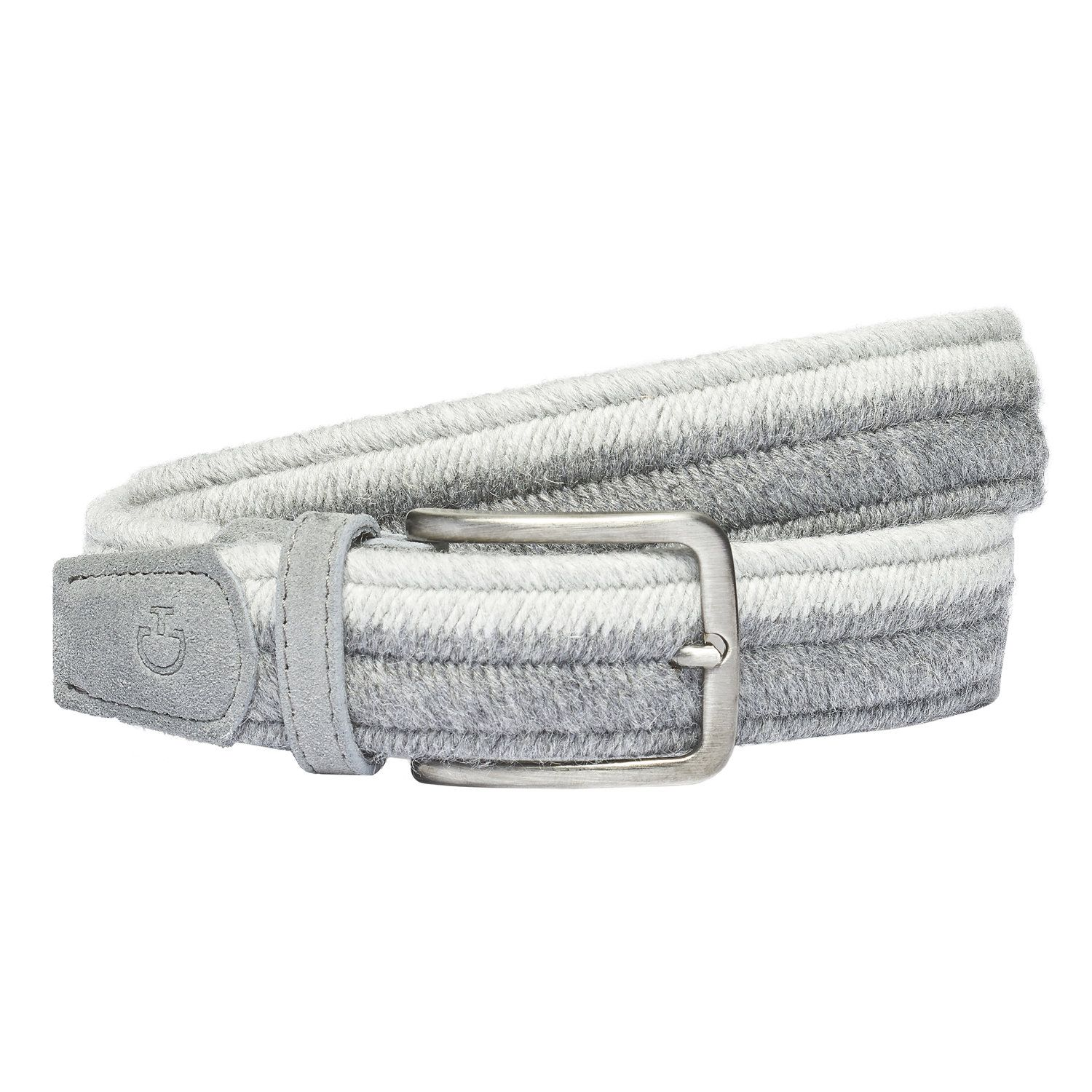 Bi-color wool belt