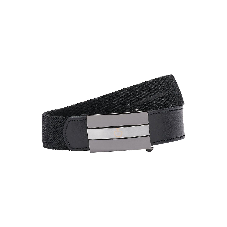 Woman's elastic band belt w/rubberized CT logo