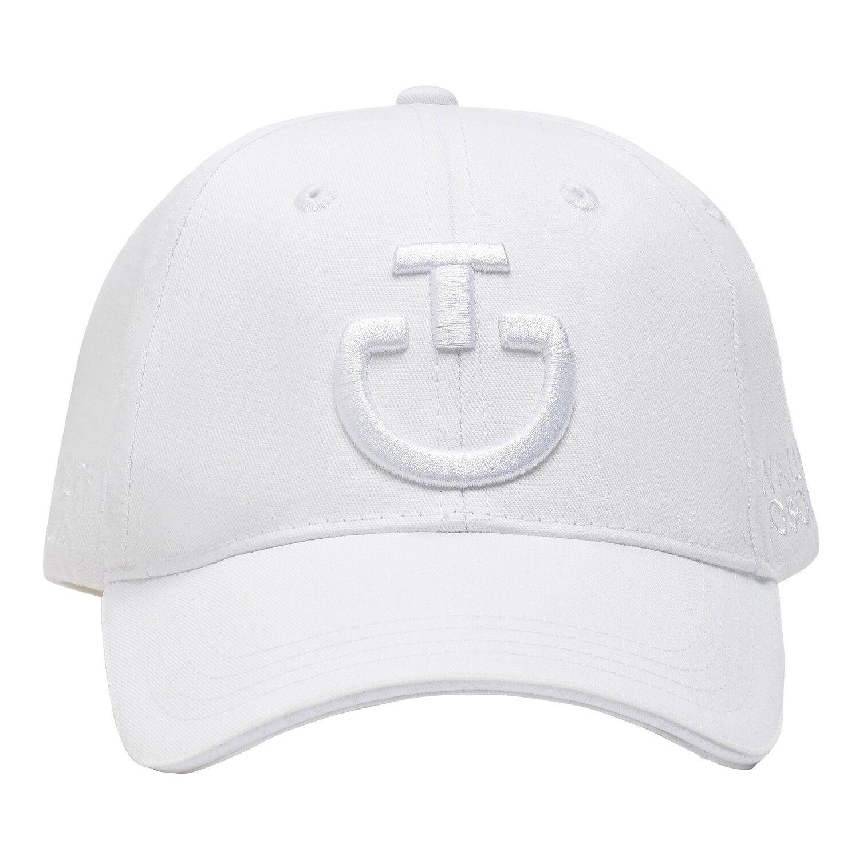 Cappellino in cotone con logo