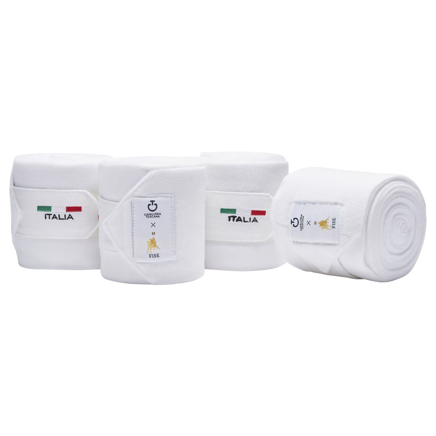 FISE fleece horse bandages