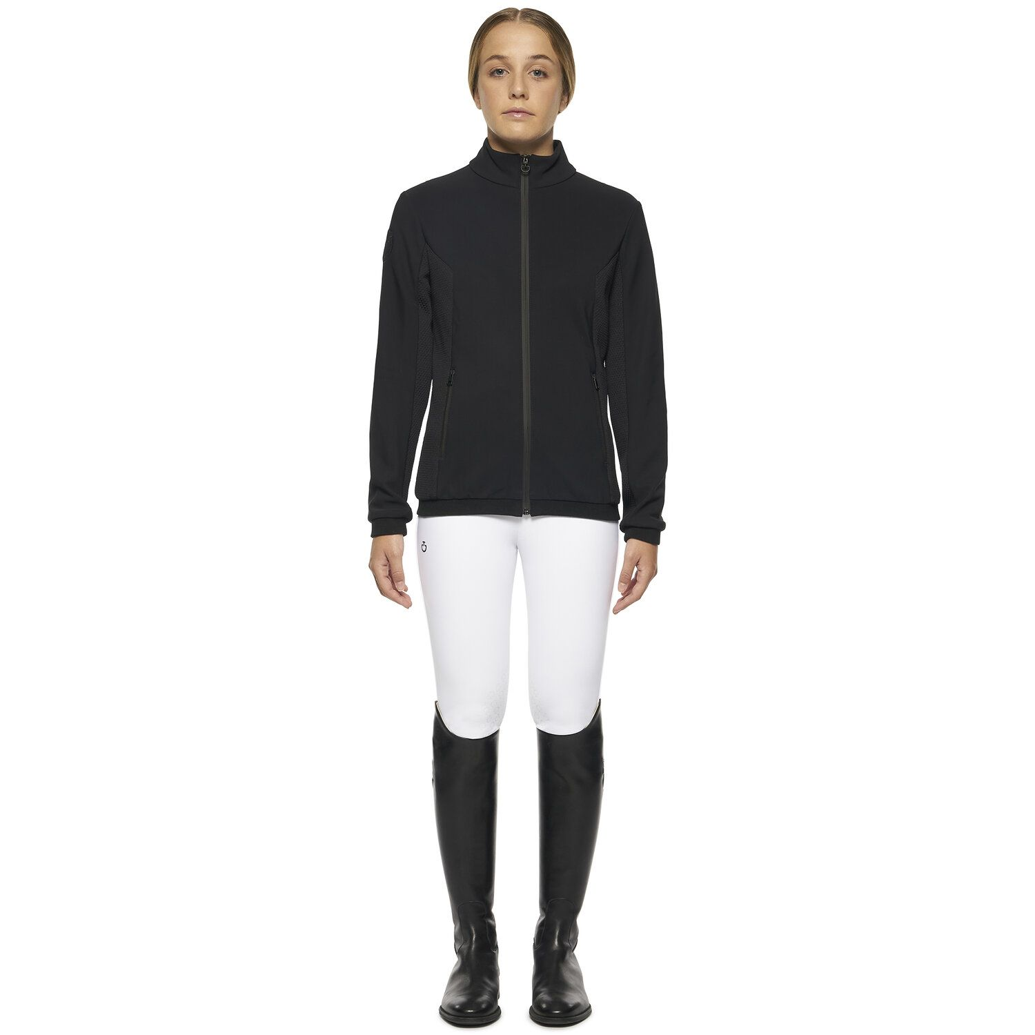 Young Riders' Sweatshirt with Front Zipper