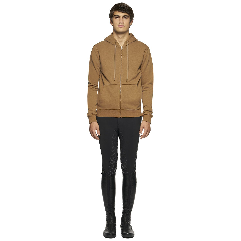 Men's Sweatshirt with Front Zipper
