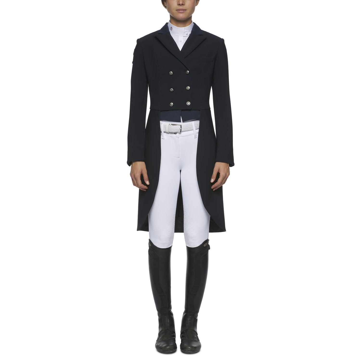 Women`s riding tailcoat.