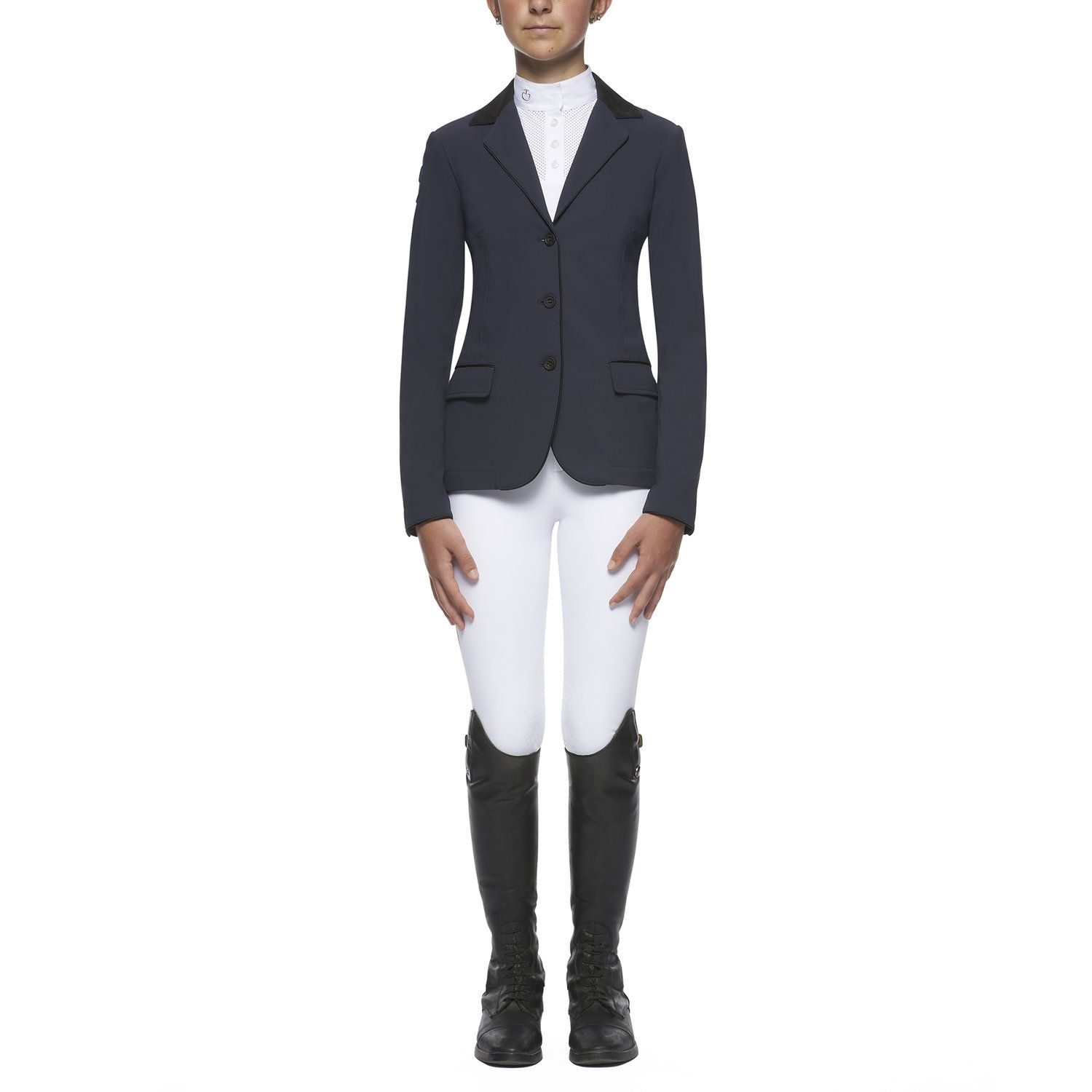 Girl`s competition riding jacket