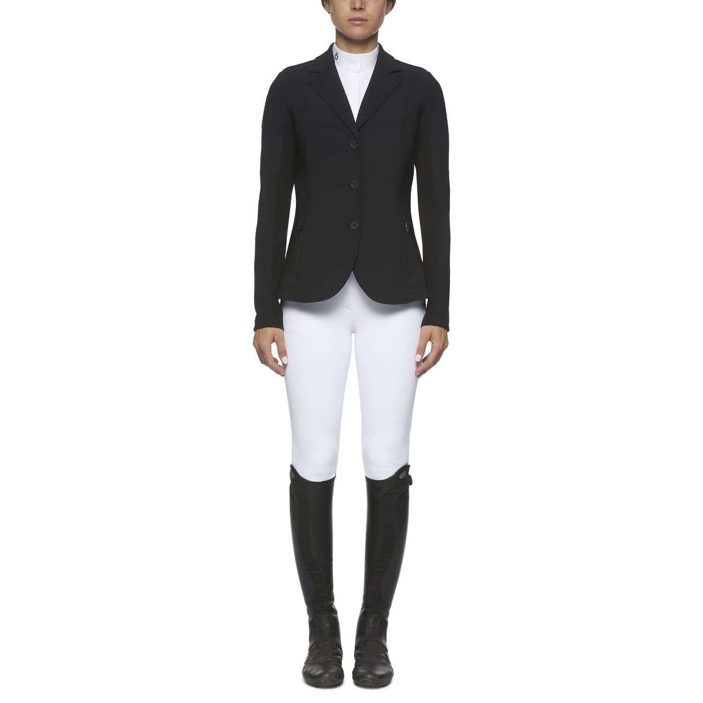 Women`s jersey and knit jacquard riding jacket