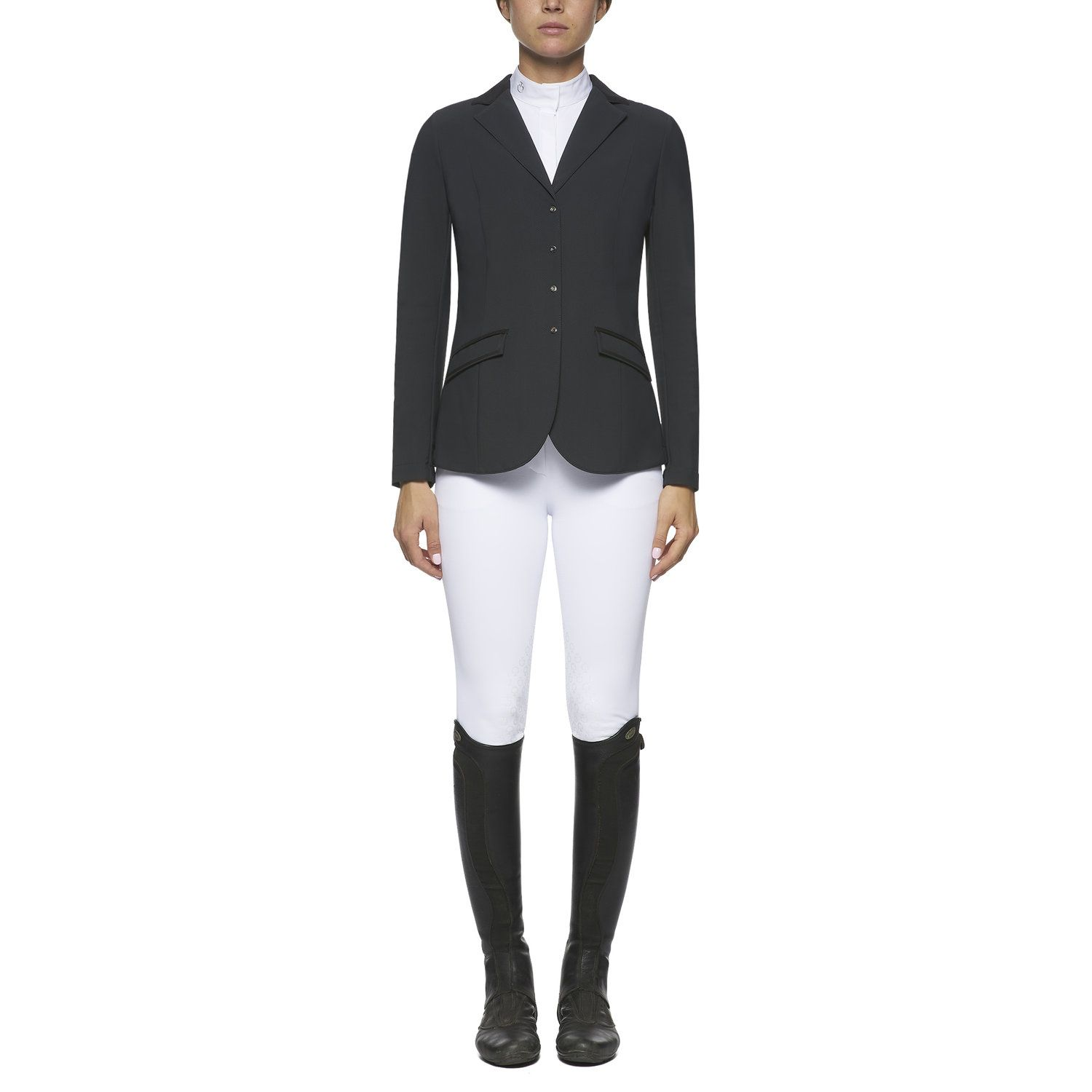 Women`s zip riding jacket