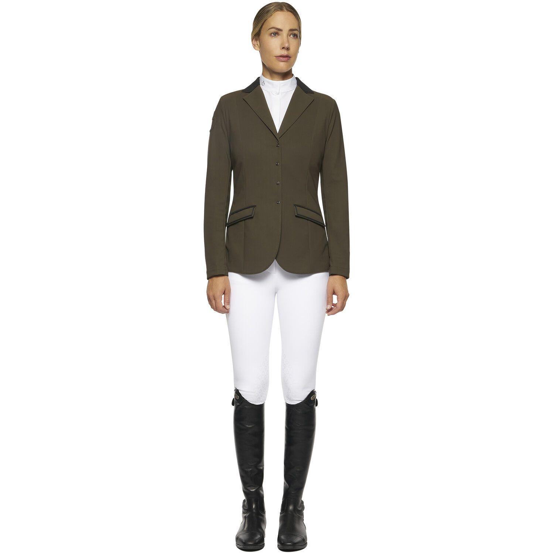 Women's zip riding jacket
