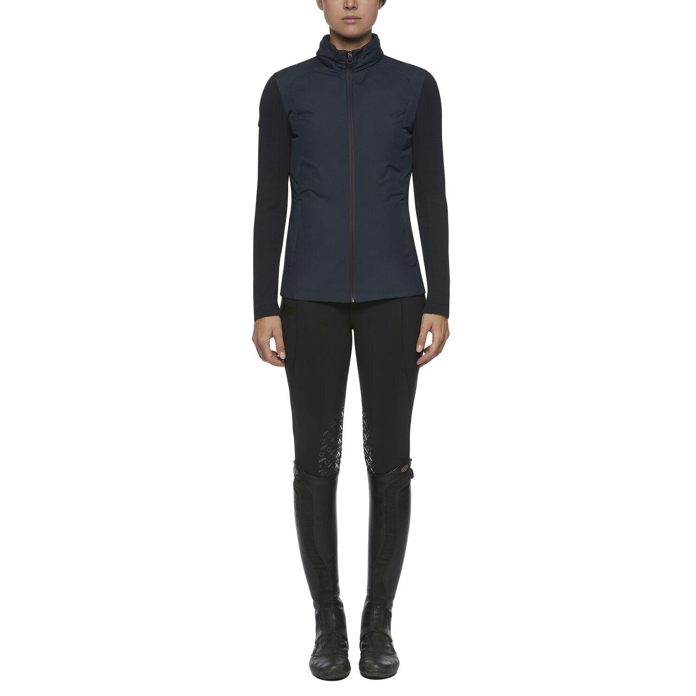 Women's lightweight zip puffer jacket