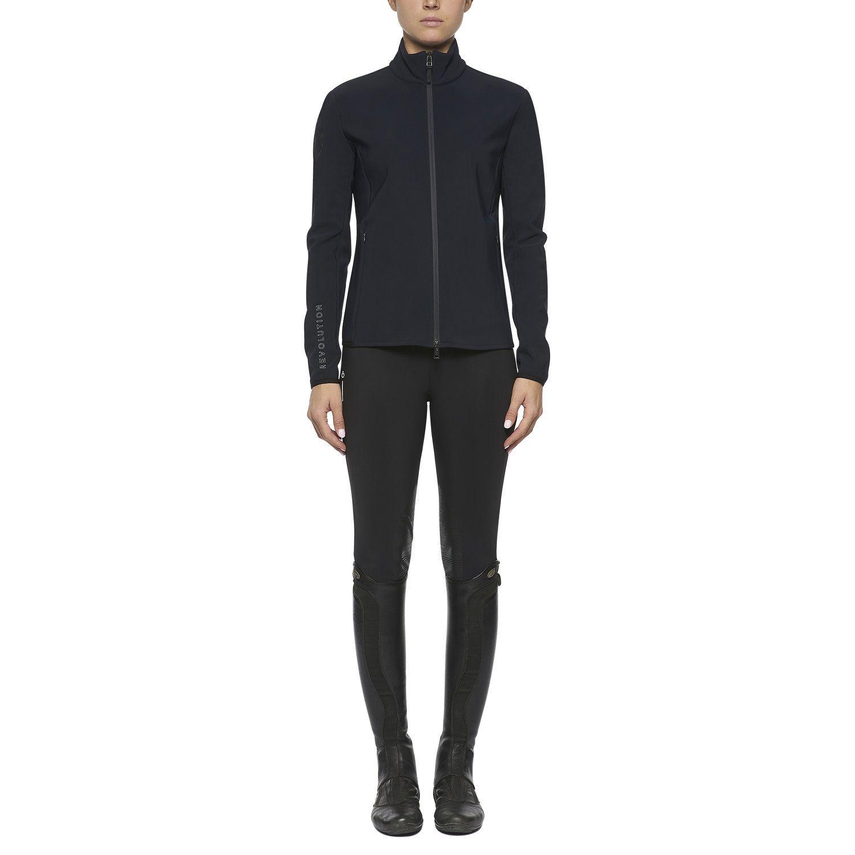 Women's jersey and fleece softshell jacket
