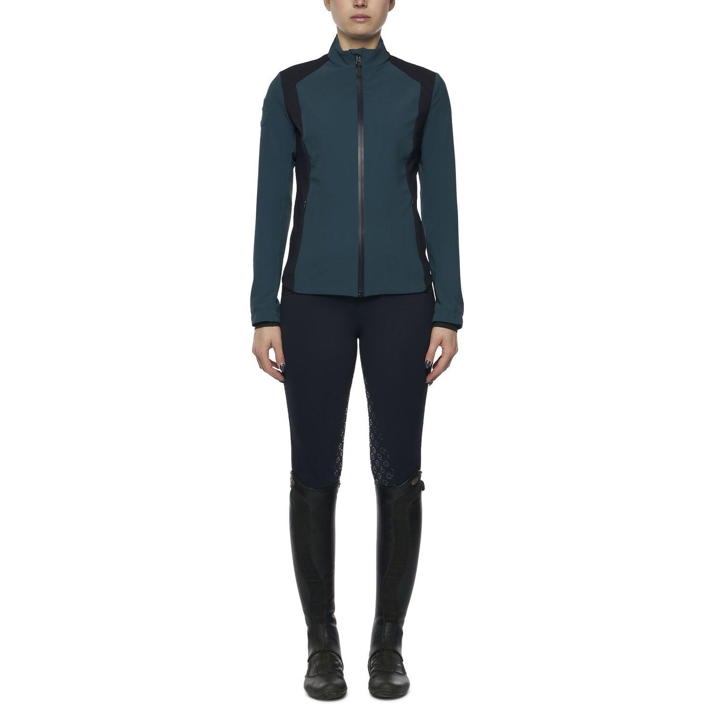 Women's lightweight jersey and piqué jacket