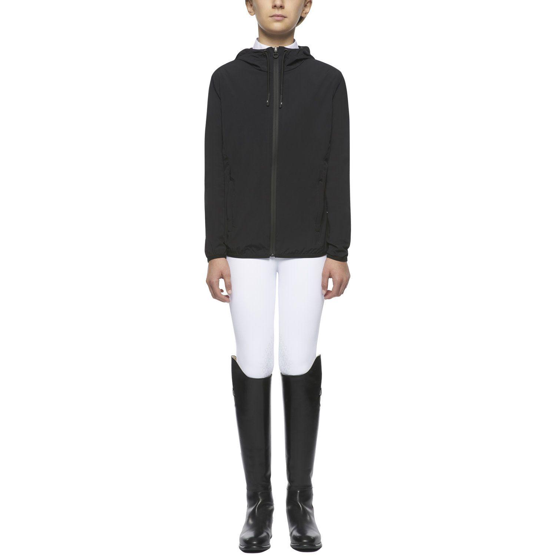 Waterproof unisex hooded zip jacket for kids
