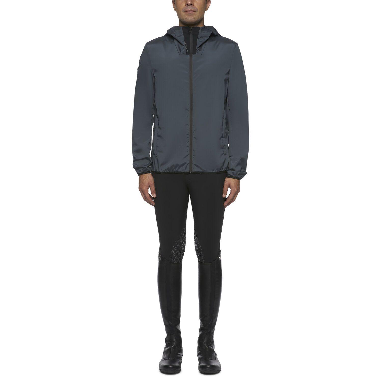 Men's nylon zip jacket