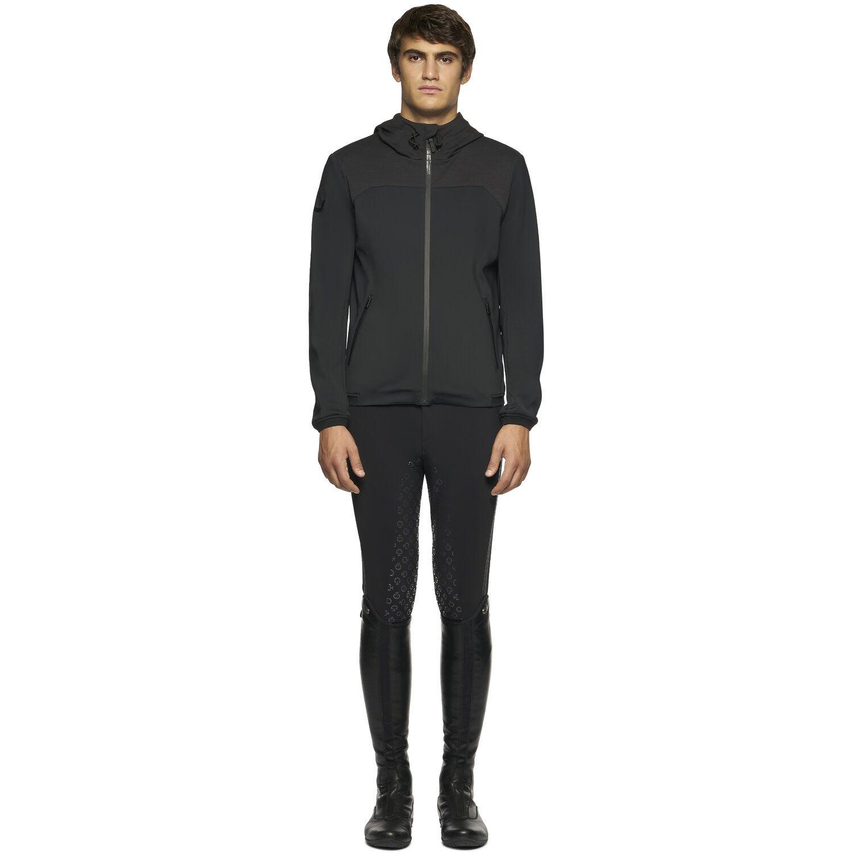Men's Jersey Bonded Wool Jacket