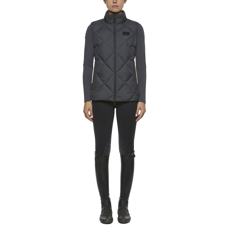 Women's zip quilted vest