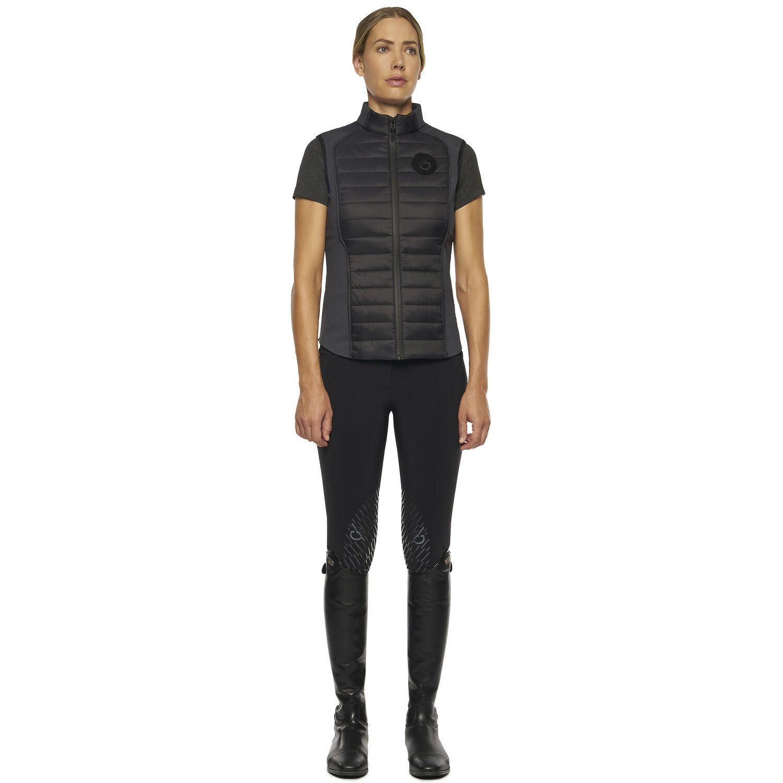 TEAM women lightweight padded zip vest