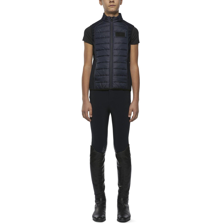 Boy lightweight puffer vest w/zip