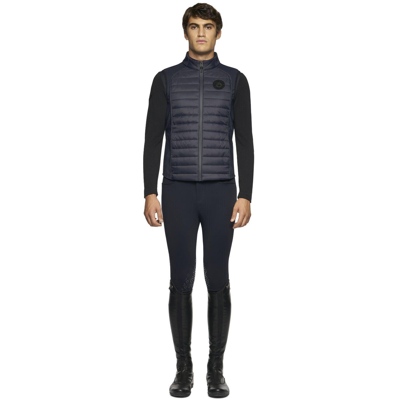 TEAM men lightweight padded zip vest