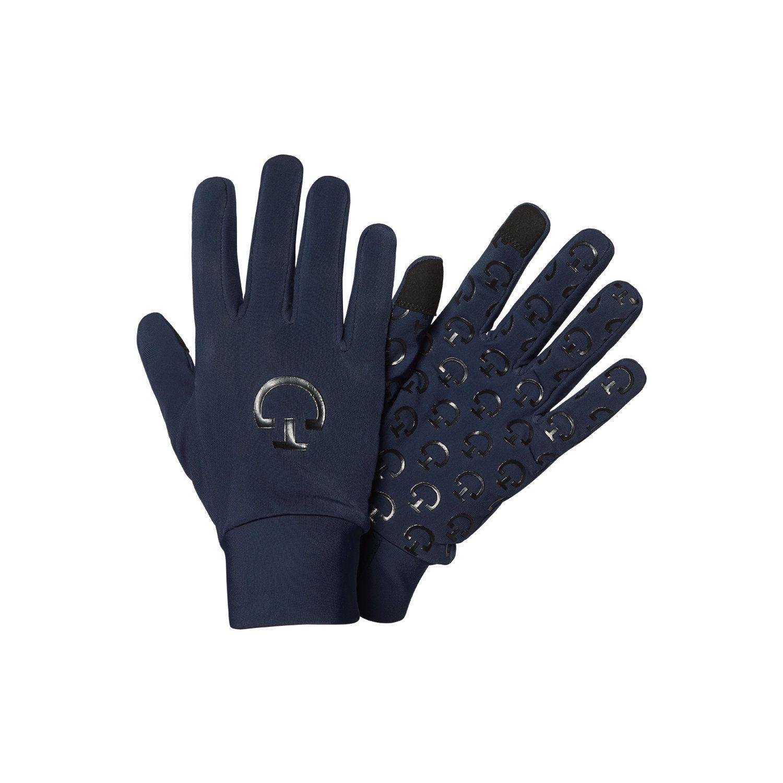 Riding winter gloves