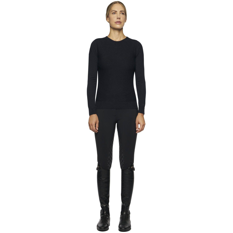 Honeycomb women's sweater
