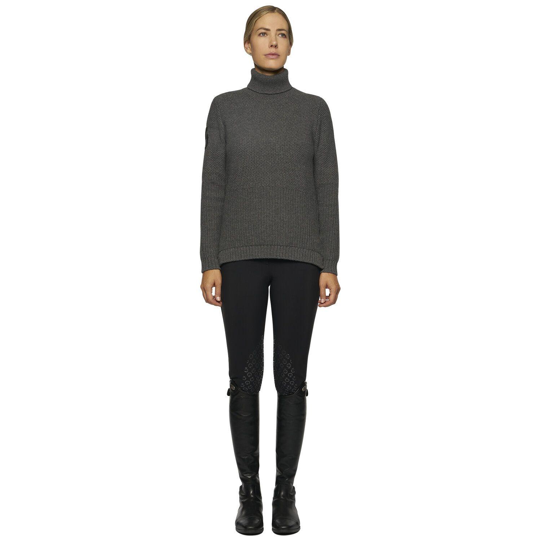Women's turtleneck sweater