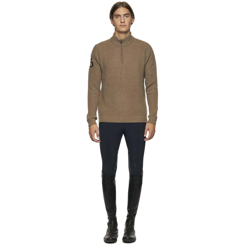 Men's Half Zip Tutleneck Sweater