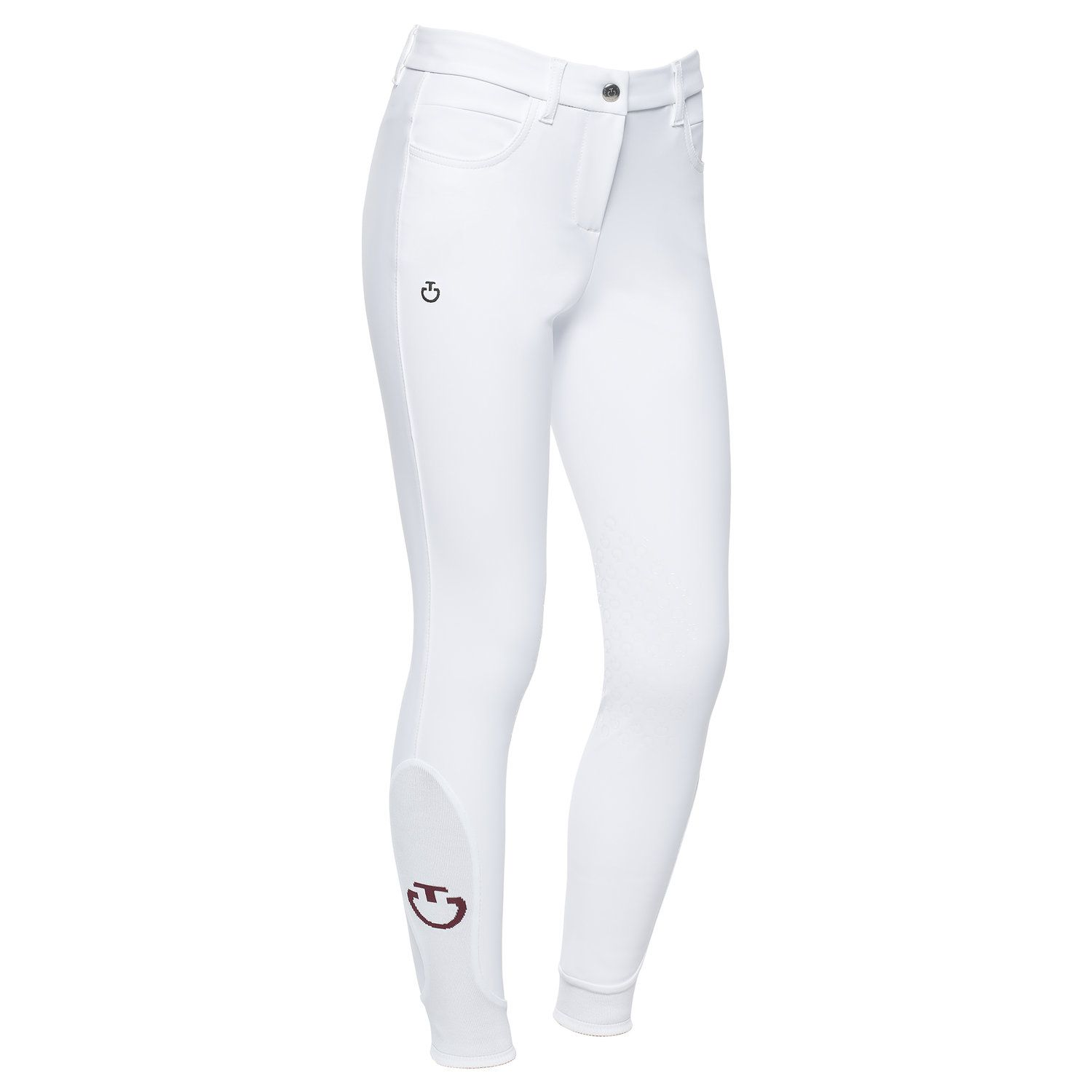 Girl`s knee grip riding breeches