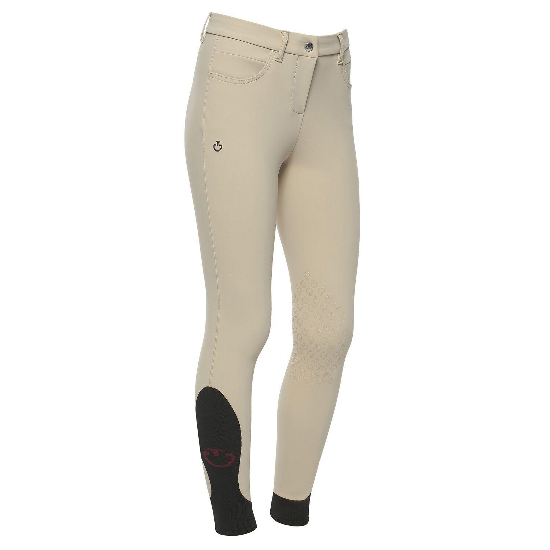 Girl`s knee grip riding breeches