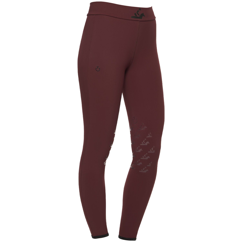 High Waist Breeches for Girls with Knee Grip
