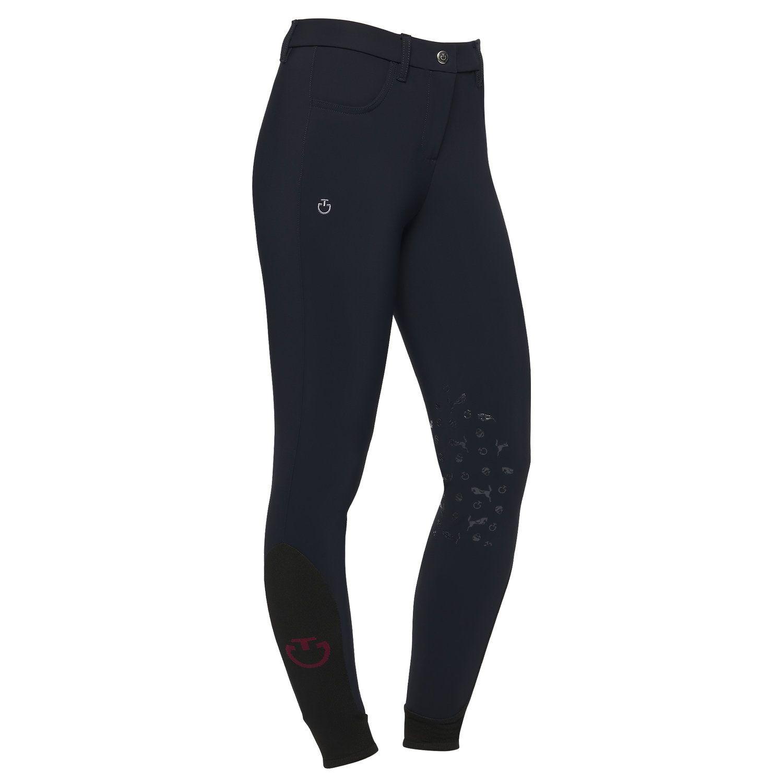 Girl's pattern knee grip breeches
