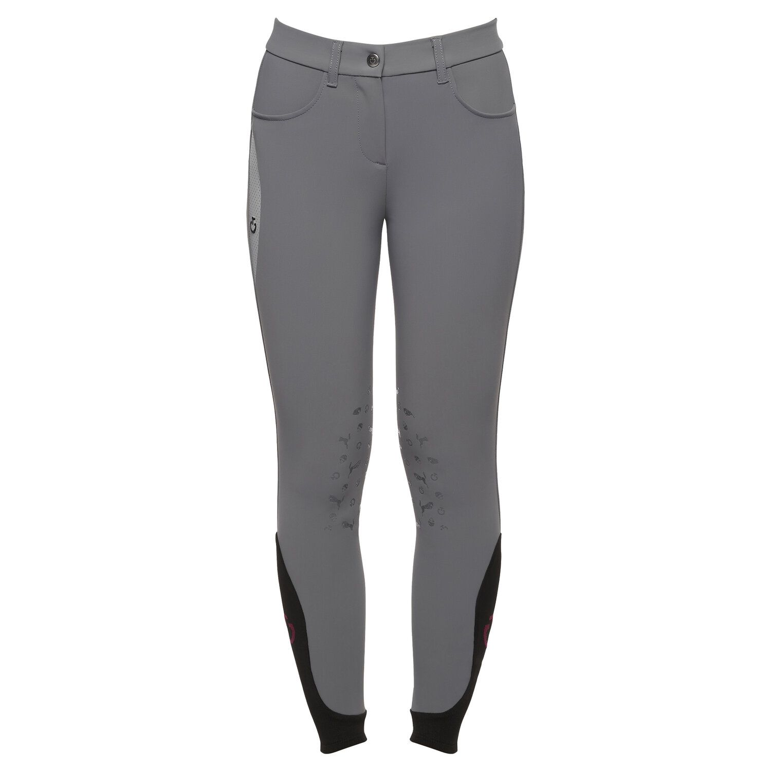 Girl Perforated Print Breeches