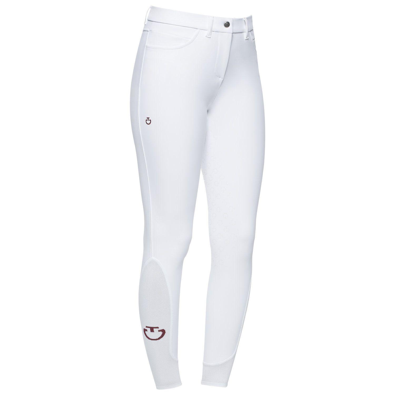 Pantaloni dressage donna a vita regolare