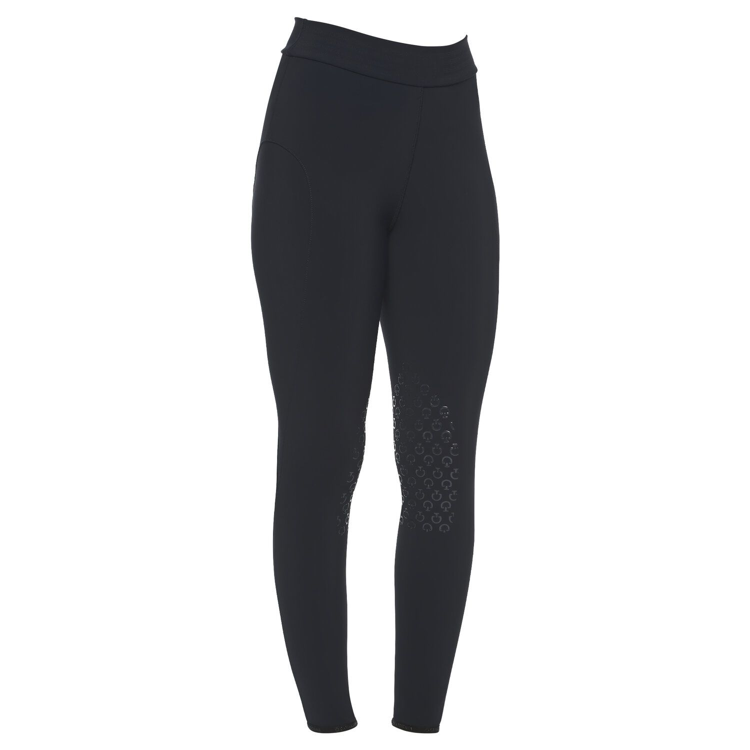 Women`s riding leggins with decorated waistband