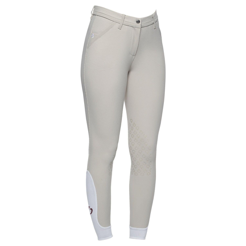 Pattern knee grip riding breeches