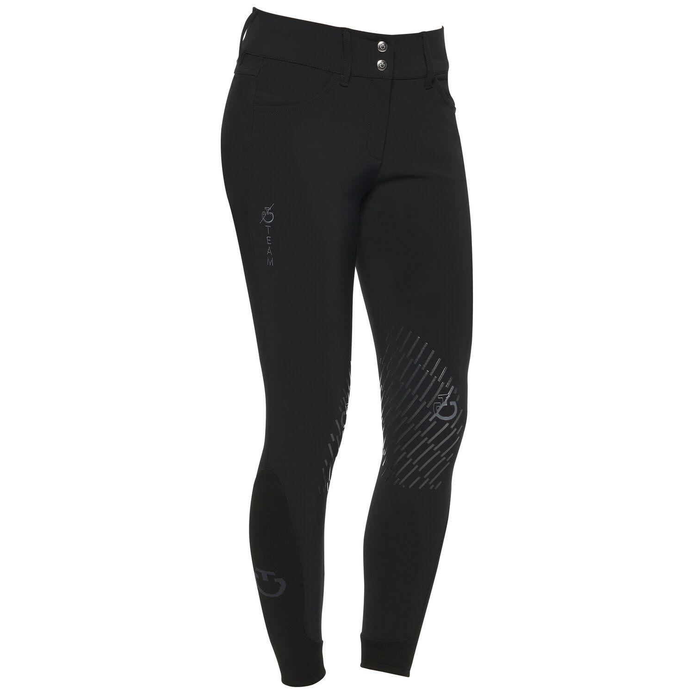 Women's TEAM knee grip breeches high waist