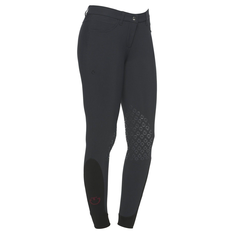 Pantaloni da equitazione donna con grip al ginocchio