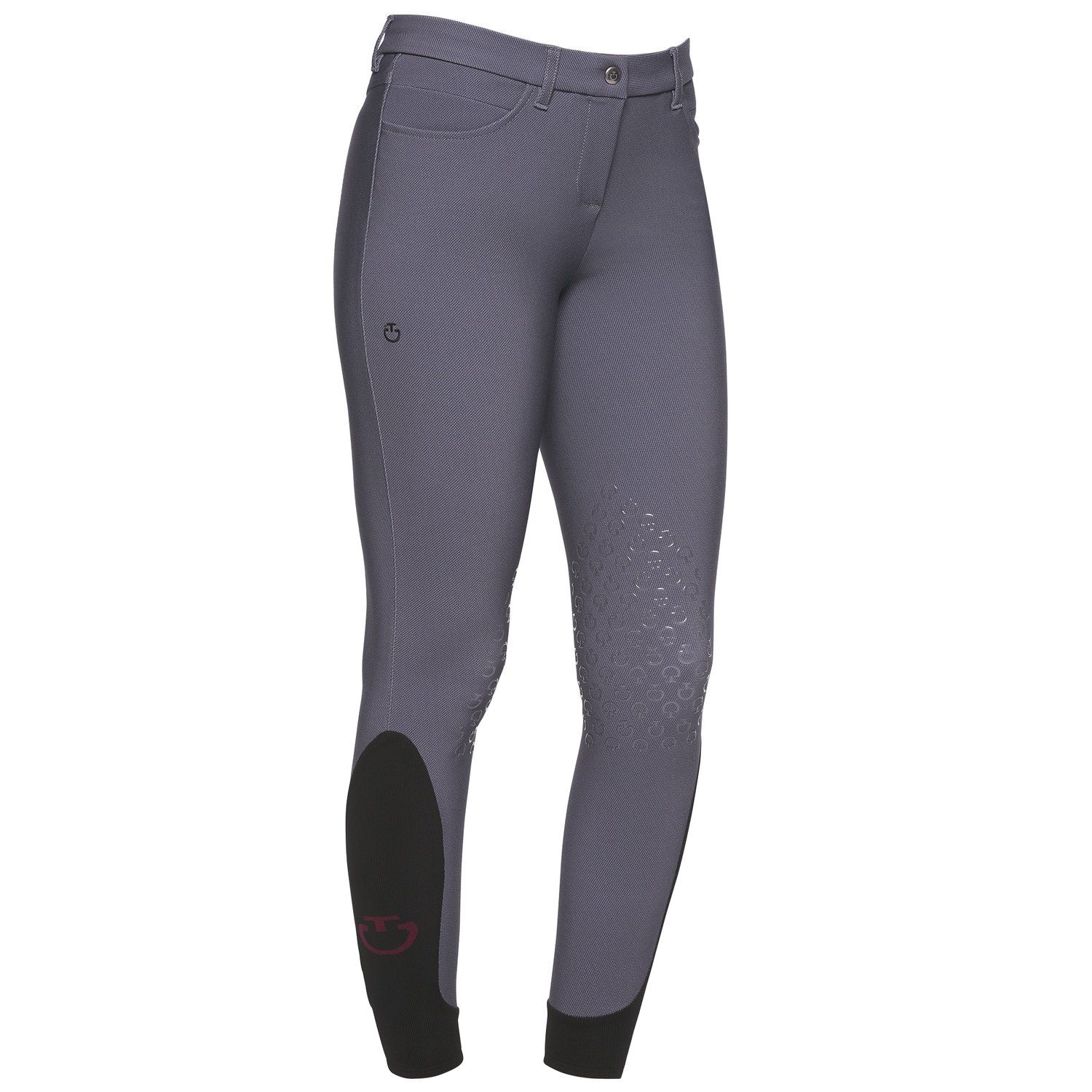 Women's knee grip riding breeches.