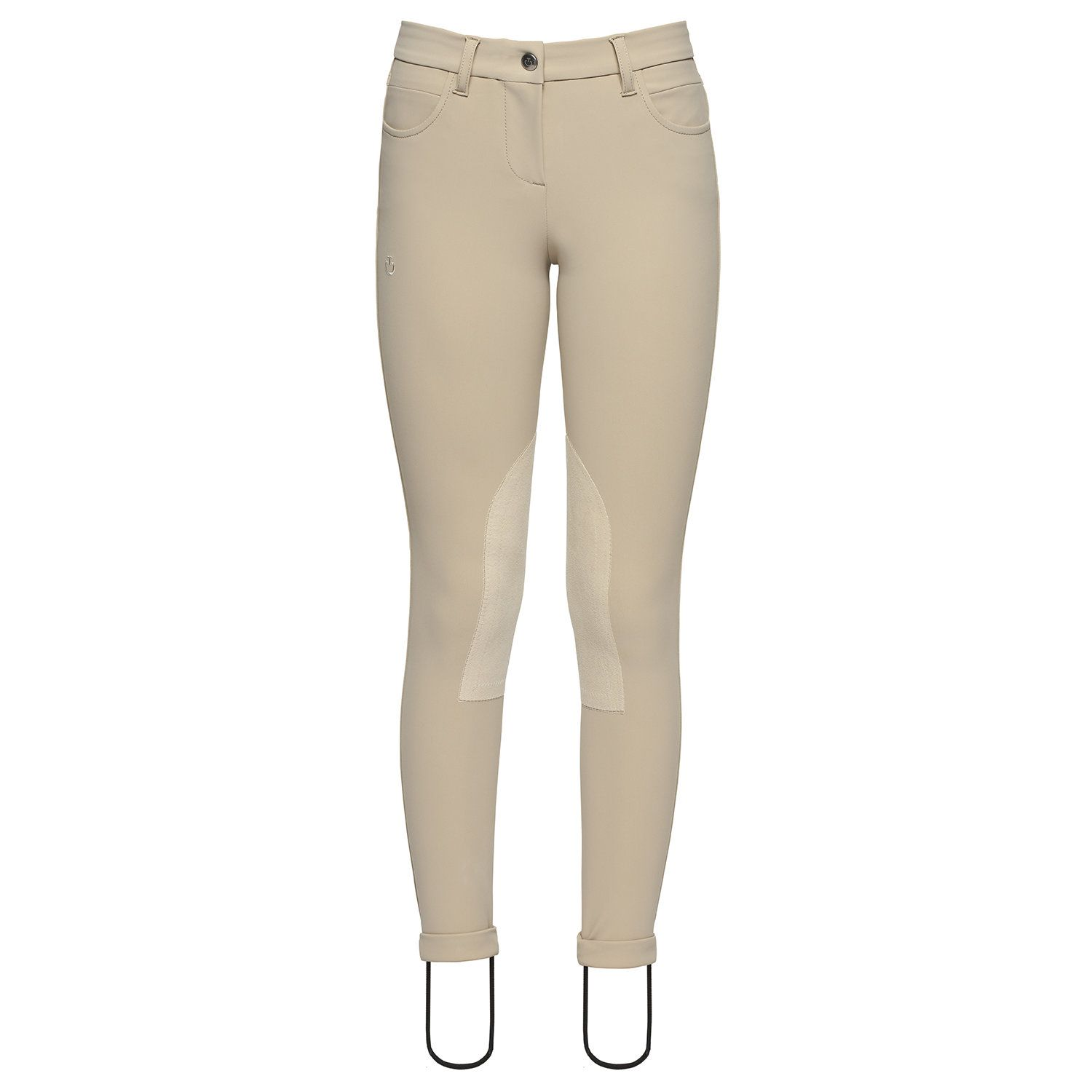 Knee Grip Breeches for Kids with Embroidered Logo
