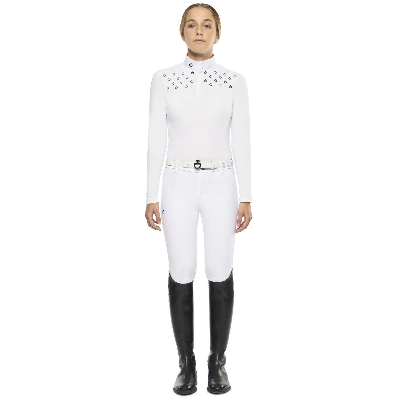 Long-sleeved Polo Shirt for Girls