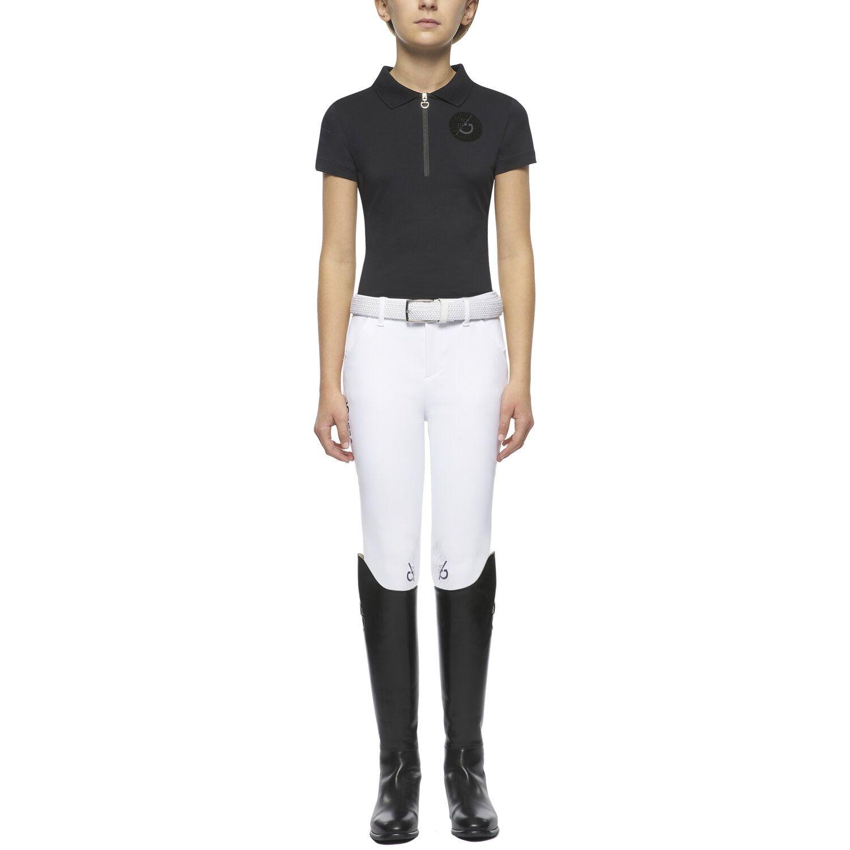 TEAM Girl's short-sleeved polo