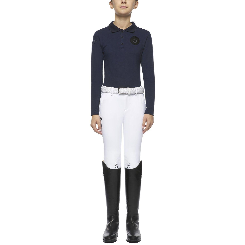 TEAM girl's long-sleeved polo