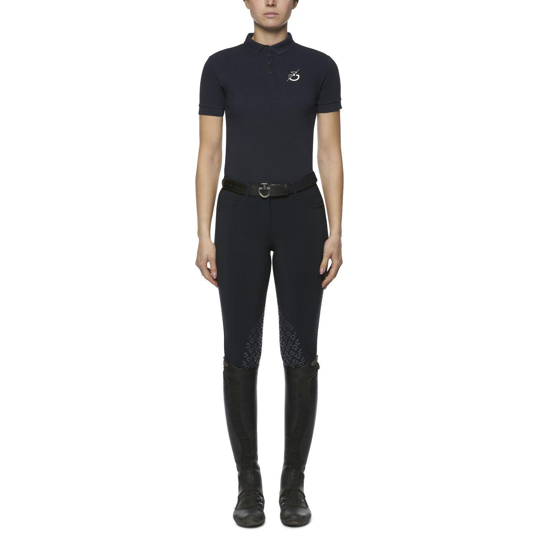 CT Team women's short-sleeved polo