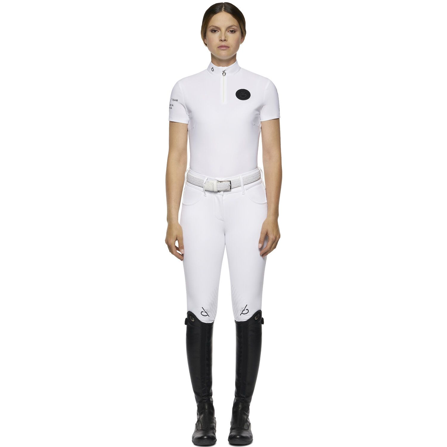 TEAM women short sleeve competition polo