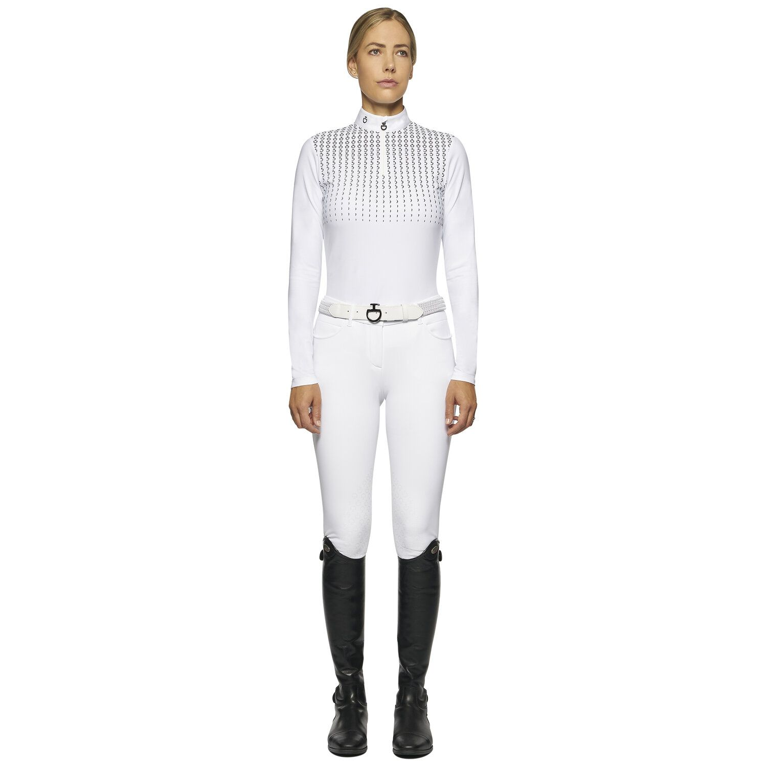Women's competition polo long sleeve