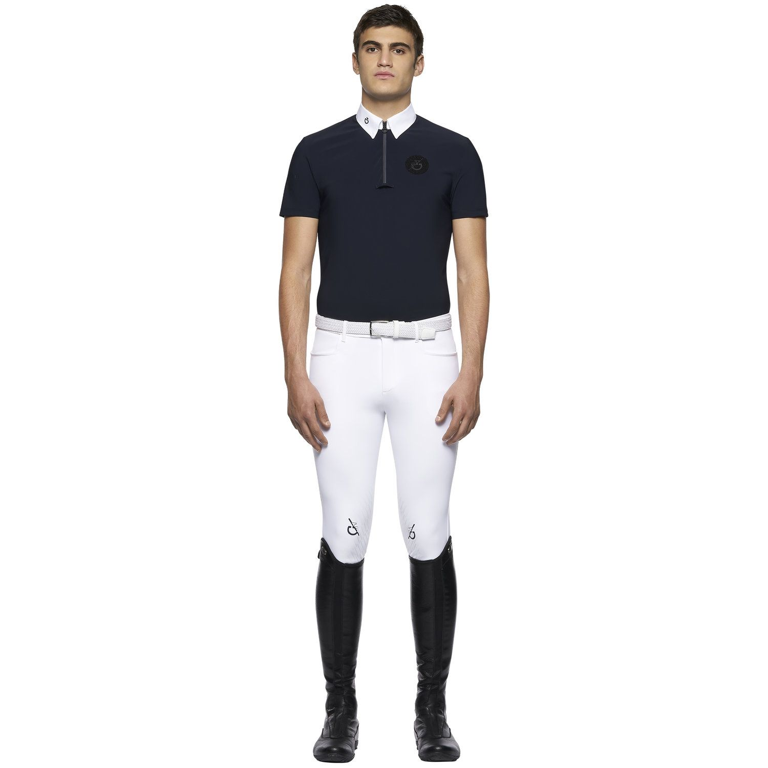 TEAM men's short sleeve competition polo