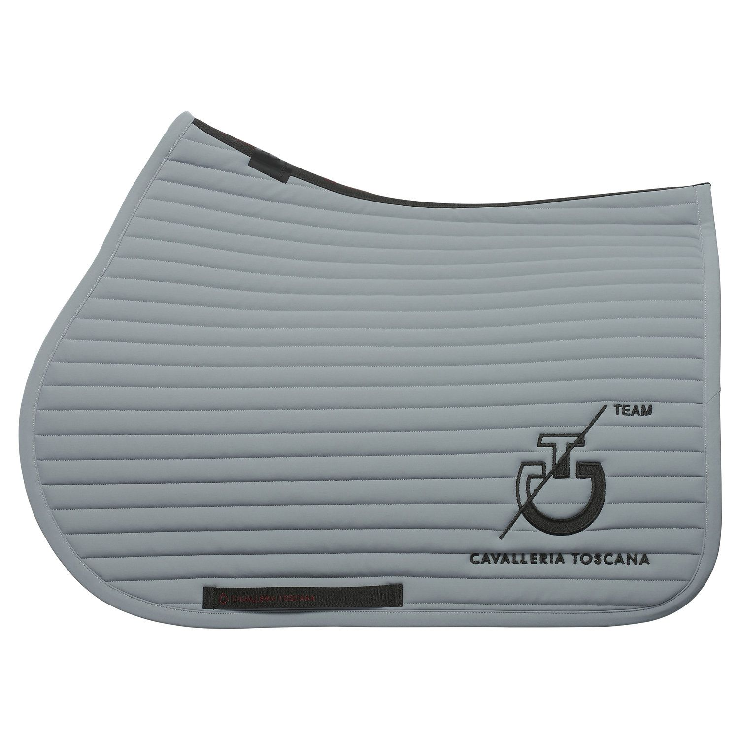 Row-quilted CT Team jumping saddle pad