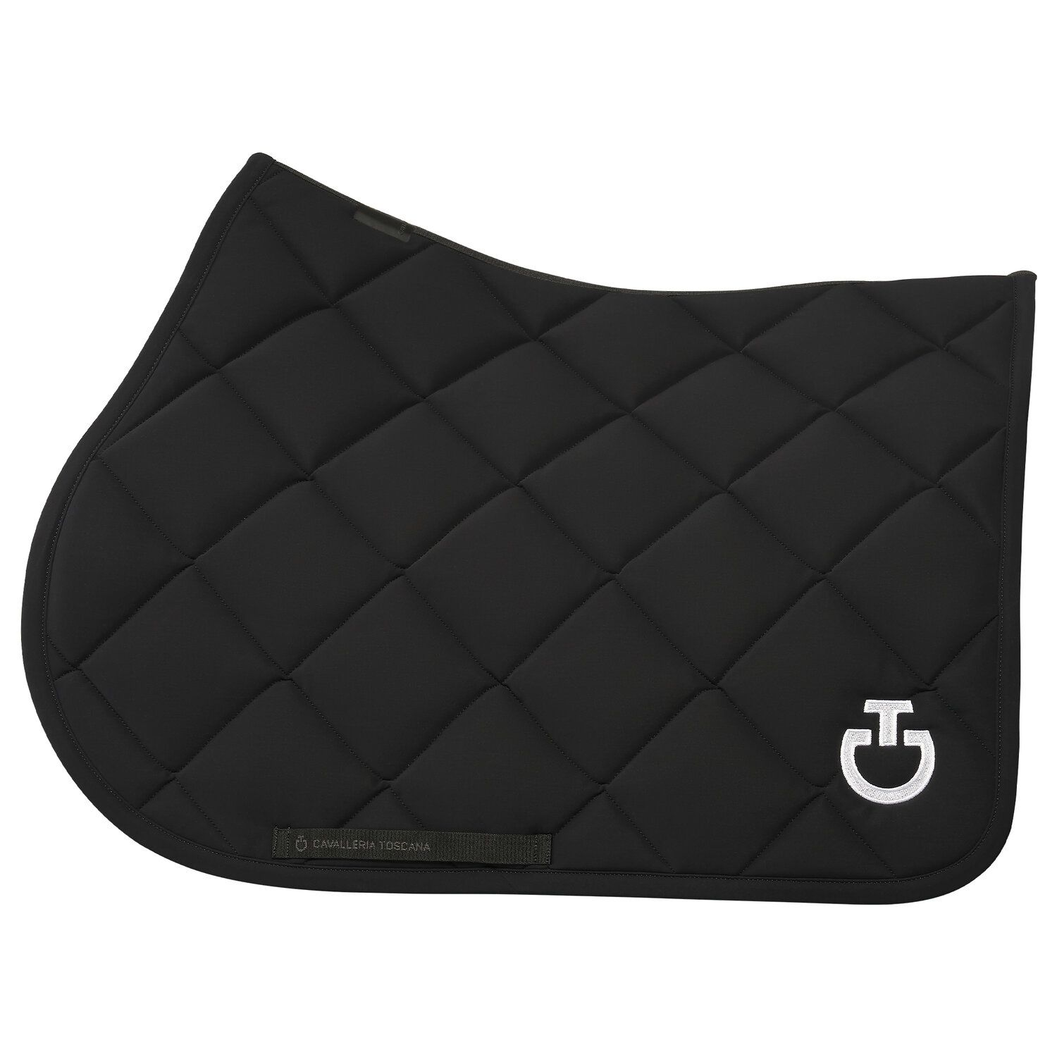 Diamond Quilted Jersey Jumping Saddle Pad
