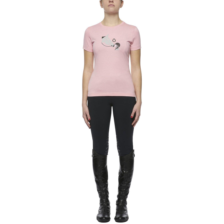 Girls Love Horses Cotton T-Shirt